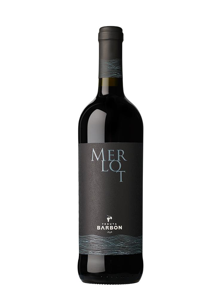 bottiglia di Merlot Tenuta Barbon